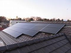 太陽光を利用してエネルギーの有効活用